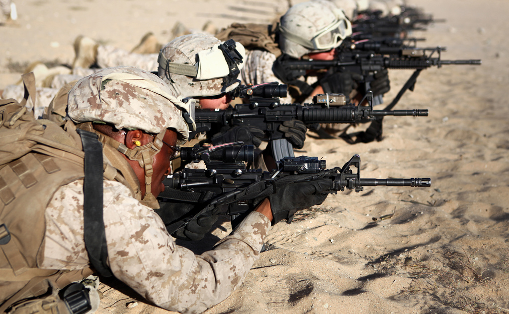 Infantry Front Line Marines